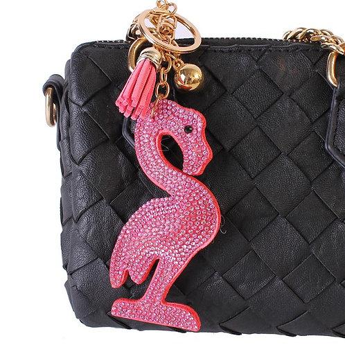 Foamy Pink Key Chain