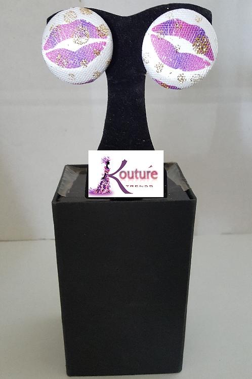 KT Signature Kisses Brand Earrings (Mixed)