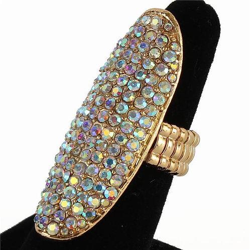 Index Finger Rhinestone Ring (GA)