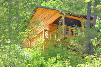 It is like a tree house!