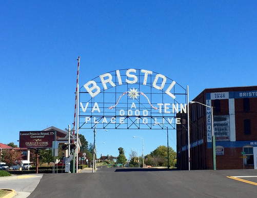 The famous Bristol VA-TN Sign.