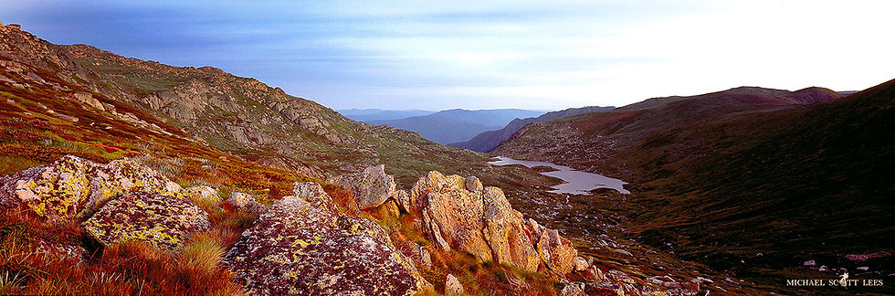 Lake Albina in Kosciuszko National Park, Australia. Fine Art Photography Prints for Sale by Michael Scott Lees photographer.