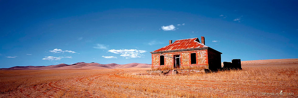 Old rustic stone house, Burra, Australia. Fine Art Photography Prints for Sale by Michael Scott Lees photographer.