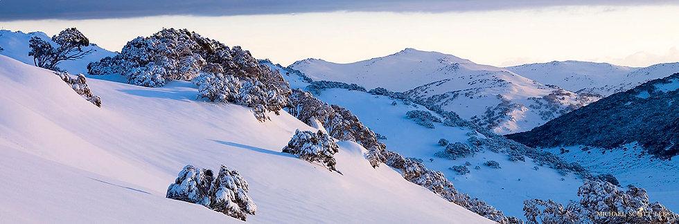 View to Main Range near Charlotte Pass, Kosciuszko National Park, Australia. Fine Art Photography Prints for Sale
