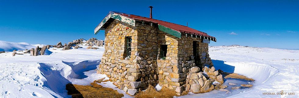 Seamans Hut in Kosciuszko National Park, Australia. Fine Art Photography Prints for Sale by Michael Scott Lees photographer.