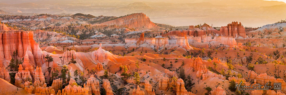 Sunset Point at Bryce Canyon National Park, America. Michael Scott Lees fine art photographic prints for sale
