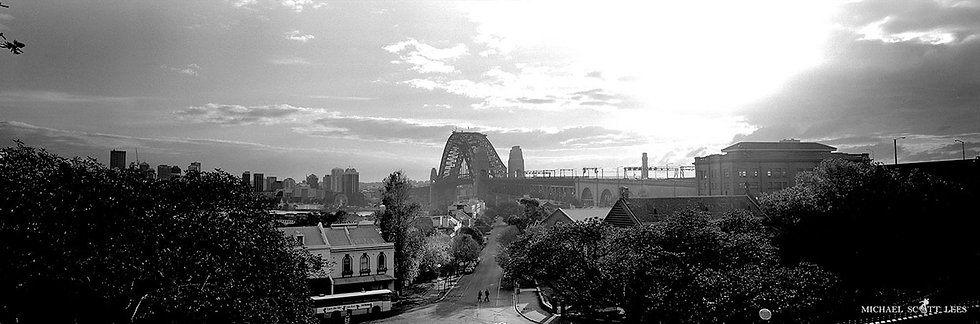 The Harbour Bridge, Sydney, Australia. Fine Art Photography Prints for Sale by Michael Scott Lees photographer.