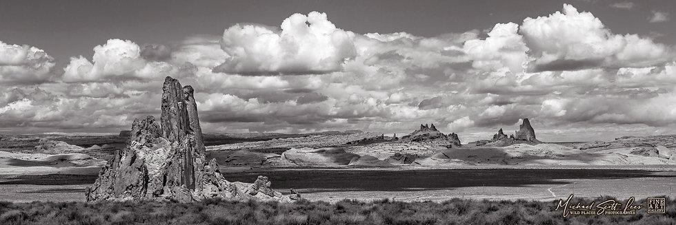 Church Rock Valley near Monument Valley in Arizona, America. Michael Scott Lees fine art photographic prints for sale