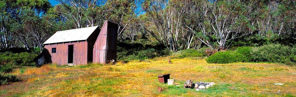 Grey Mares Hut in Kosciuszko National Park, Australia. Fine Art Photography Prints for Sale by Michael Scott Lees photograph