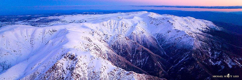 Main Range of Kosciuszko National Park, Australia. Fine Art Photography Prints for Sale by Michael Scott Lees photographer.