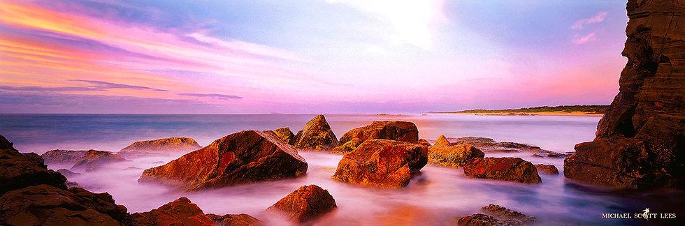 Rock Pools at Port Macquarie, Australia. Fine Art Photography Prints for Sale by Michael Scott Lees photographer.