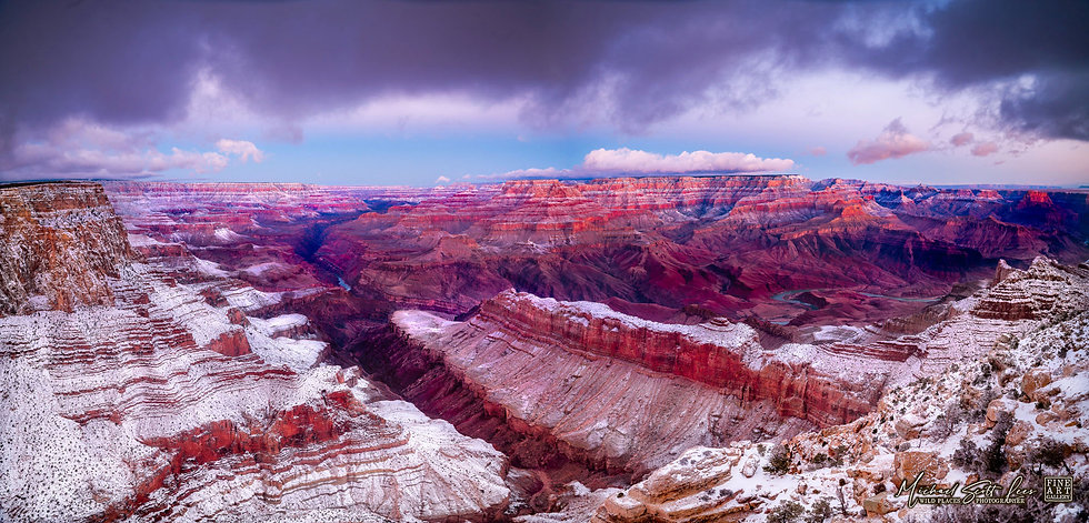 Grand View Point, Grand Canyon National Park in Arizona, America. Michael Scott Lees fine art photographic prints for sale