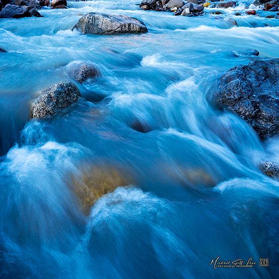 Nisqually River in Mount Rainier National Park, Washington State, America. Michael Scott Lees fine art photographic prints
