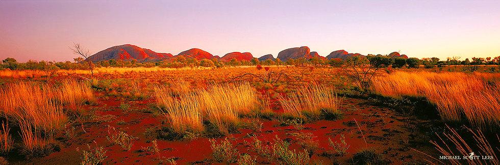 Kata Tjuta at sunrise in Uluru National Park, Northern Territory, Australia. Fine Art Photography Prints for Sale