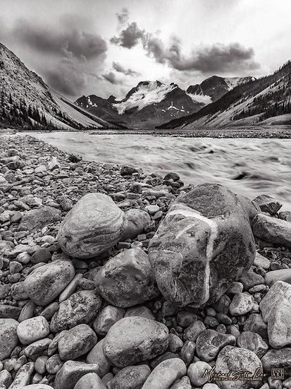 North Saskatchewan River, Jasper National Park, Alberta, Canada. Michael Scott Lees fine art photographic prints for sale