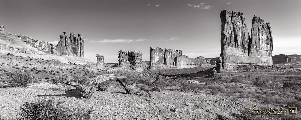 Courthouse Towers in the Arches National Park, America. Michael Scott Lees fine art photographic prints for sale