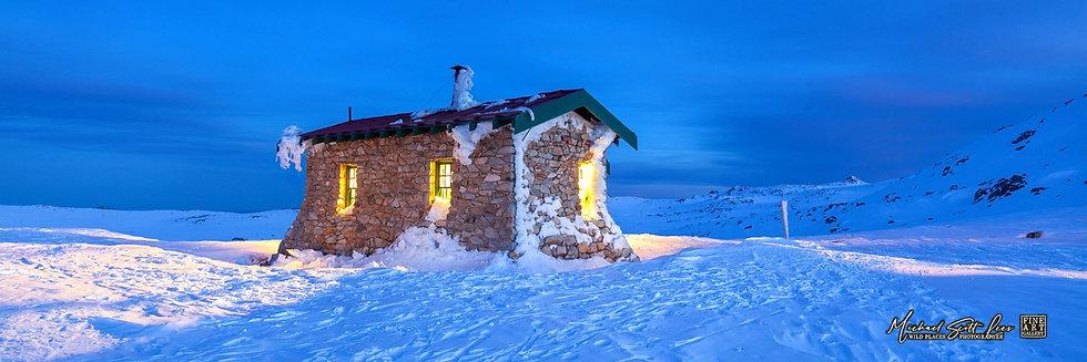 Seamans Hut, Kosciuszko National Park, Australia - Code: HT7351P3FAL