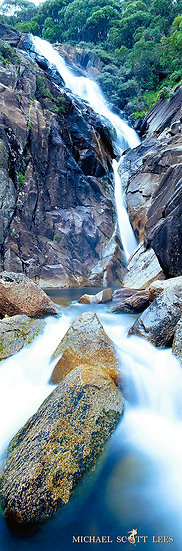 Valentine Falls in Kosciuszko National Park, Australia. Fine Art Photography Prints for Sale by Michael Scott Lees photograph