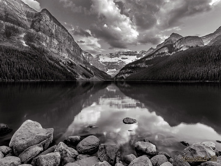 Lake Louise in Alberta, Canada. Michael Scott Lees fine art photographic prints for sale