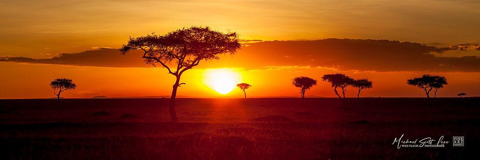 The Plains of Masai Mara National Reserve, Michael Scott Lees fine art photographic prints for sale