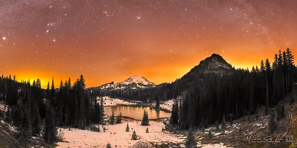 Mount Rainier National Park, Washington State, United States - Code: MT298P2T
