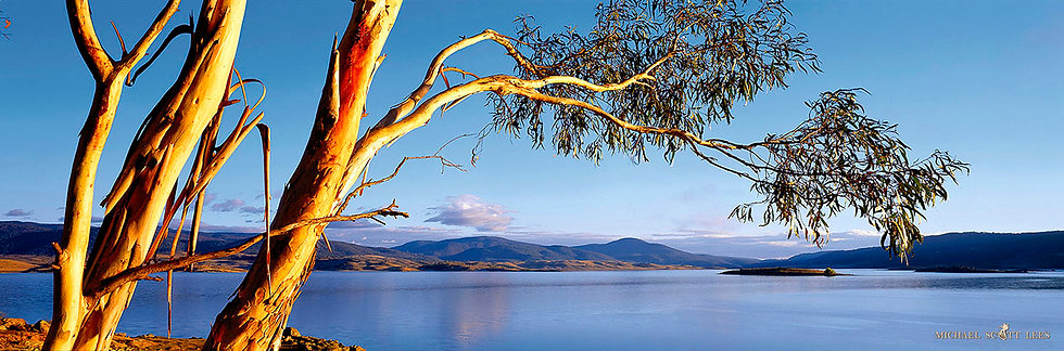 Lake Jindabyne in the Snowy Mountains, Australia. Fine Art Photography Prints for Sale by Michael Scott Lees photographer.