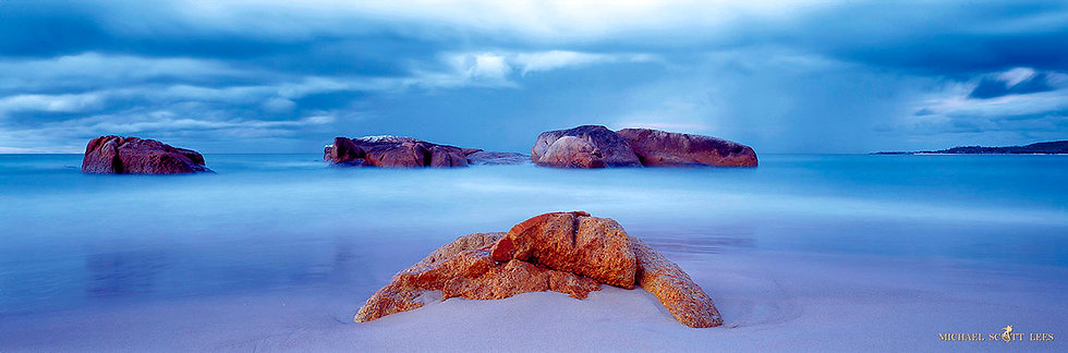 Rocks on the beach at South West Rocks, Australia. Fine Art Photography Prints for Sale by Michael Scott Lees photographer.