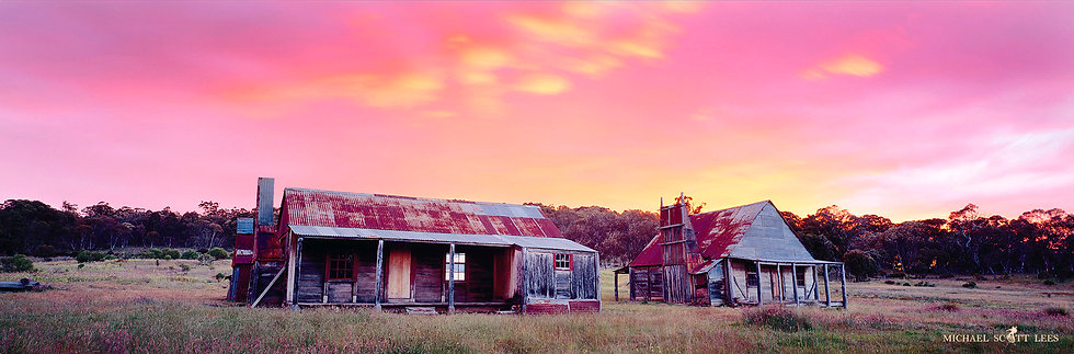 Coolamine Homestead in Kosciuszko National Park, Australia. Fine Art Photography Prints for Sale by Michael Scott Lees photo