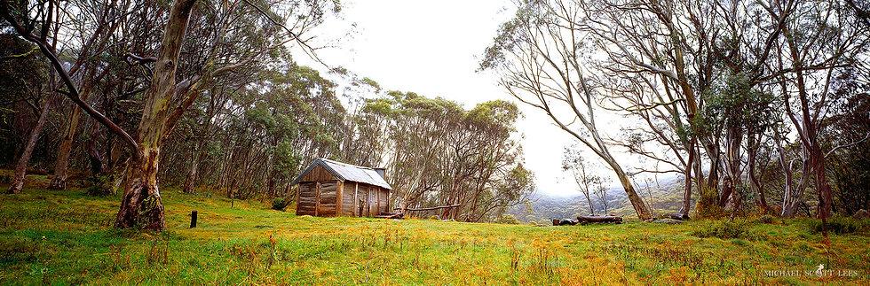 Cascade Hut in Kosciuszko National Park, Australia. Fine Art Photography Prints for Sale by Michael Scott Lees photographer.