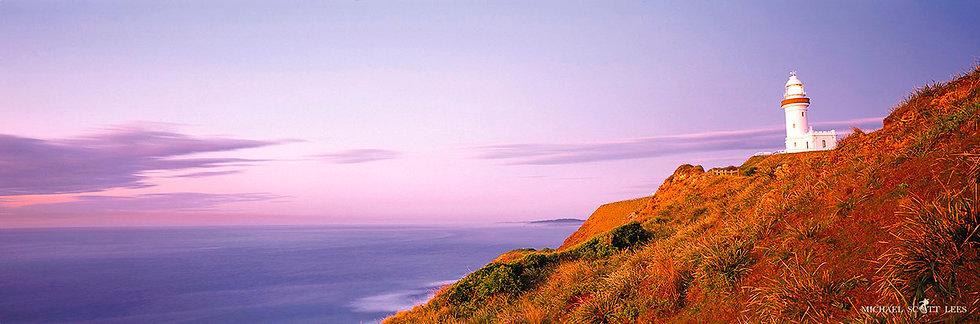 Byron Bay Lighthouse at Byron Bay, Australia. Fine Art Photography Prints for Sale by Michael Scott Lees photographer.