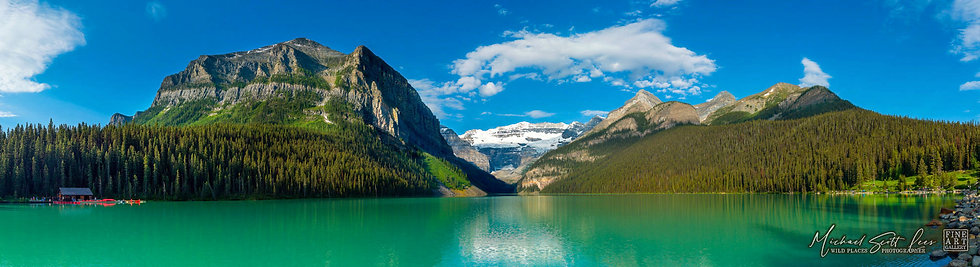 Lake Louise in Banff National Park, Alberta, Canada. Michael Scott Lees fine art photographic prints for sale