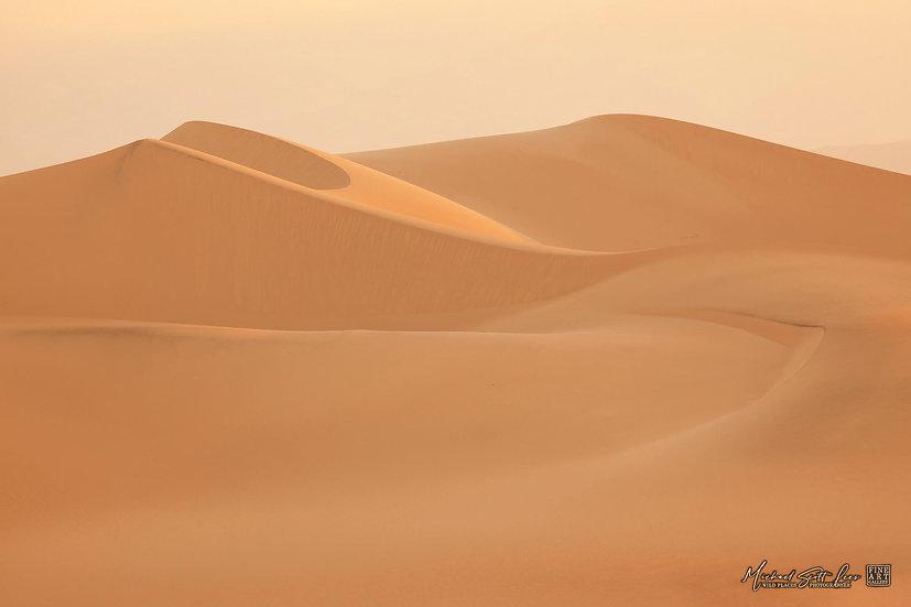 Sand dunes in Death Valley, California. Michael Scott Lees fine art photographic prints for sale