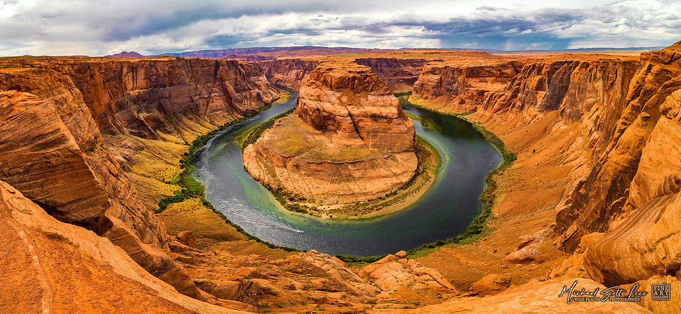 Horseshoe Bend in Arizona, America. Michael Scott Lees fine art photographic prints for sale