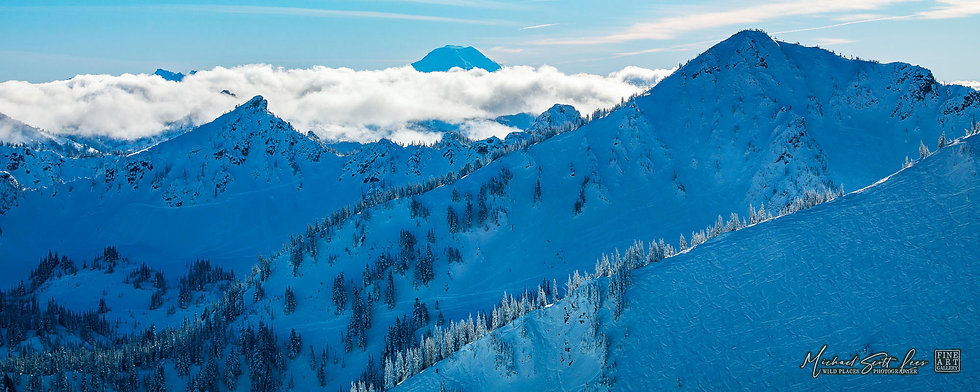 Mount Rainier National Park, Washington State, America. Michael Scott Lees fine art photographic prints for sale