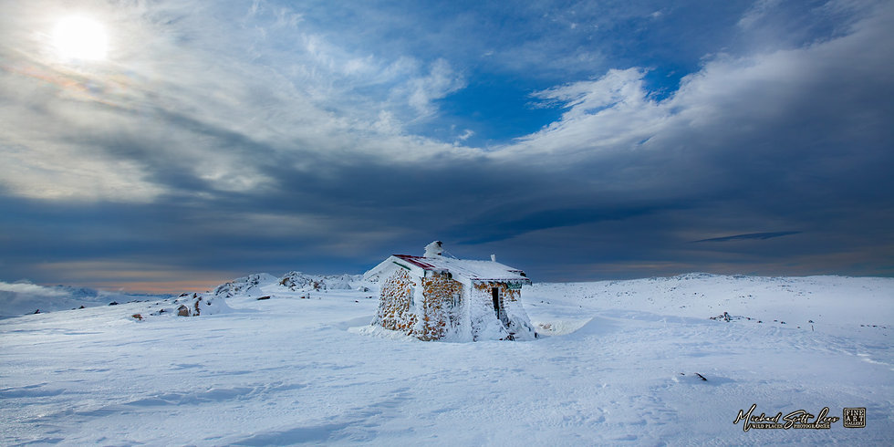 Seamans Hut in Kosciuszko National Park, Australia, Michael Scott Lees fine art photographic prints for sale