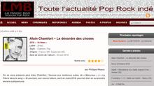 Chronique dernier album Alain Chamfort