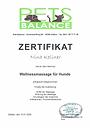 Pets Balance Hundemassage Zertifikat