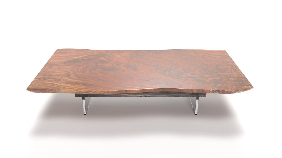 coffee table, live edge coffee table, wood slab coffee table, glass coffee table, modern coffee table,live edge, Meraki Woods