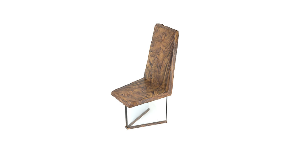 accent chair, outdoors furniture, living room, live edge chair, wood slab chair, modern chair, glass chair, Meraki Woods