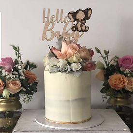 Hello Baby Cake Topper - HR