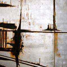 Reflections at 5am, Diptich, 2010