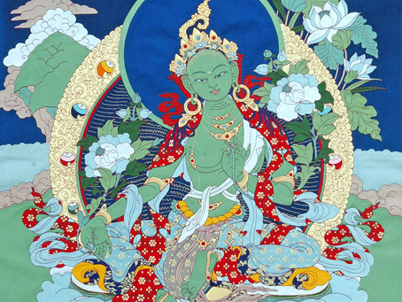 The Sūtra of Ārya Tārā Who Protects from the Eight Fears