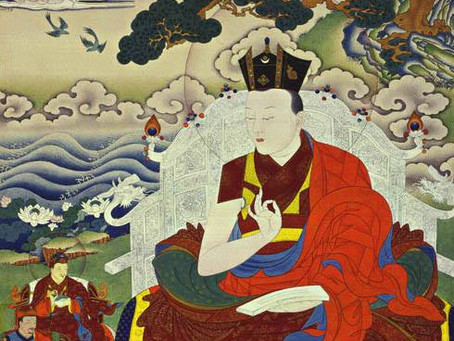 The 12'th Karmapa, Chanchup Dorje