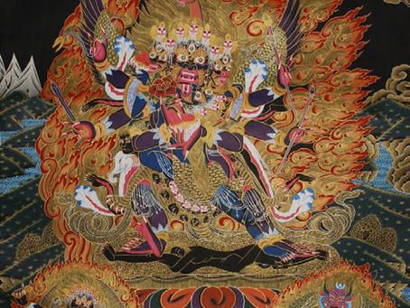 Lễ Giải Trừ Nghiệp Chướng Vajrapāṇi Hayagrīva Garuda  Triple-Deities Empowerment with Tibetan Lama D