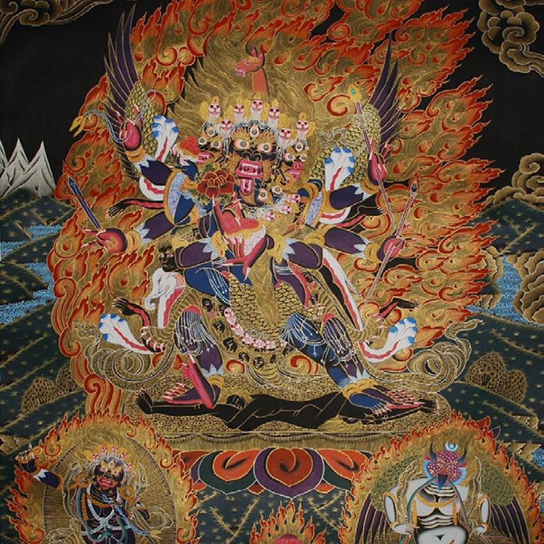 Lễ Giải Trừ Nghiệp Chướng Vajrapāṇi Hayagrīva Garuda Triple-Deities Empowerment with Tibetan Lama Dawa