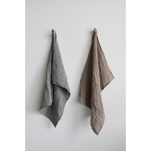 Woven Linen Tea Towel