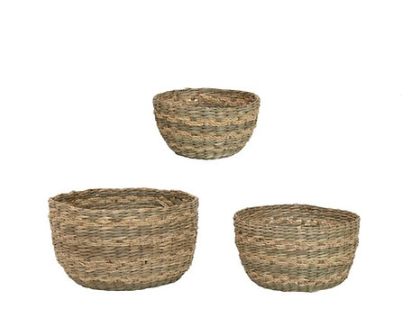 Seagrass Baskets Set of 3