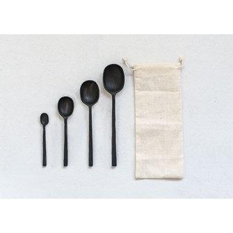 Cast Aluminum Spoons Set