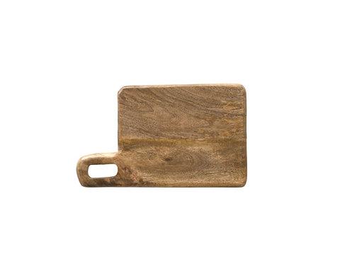 Mango Wood Cutting Board + Tray