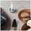 Thumbnail: Stoneware Taper Holders Set of 2